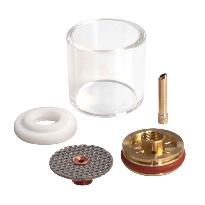 CK Worldwide 2 Series Large Diameter Gas Saver Kit - Pyrex Cup