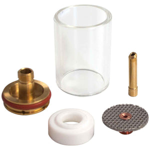 CK Worldwide 3 Series Large Diameter Gas Saver Kit - Pyrex Cup