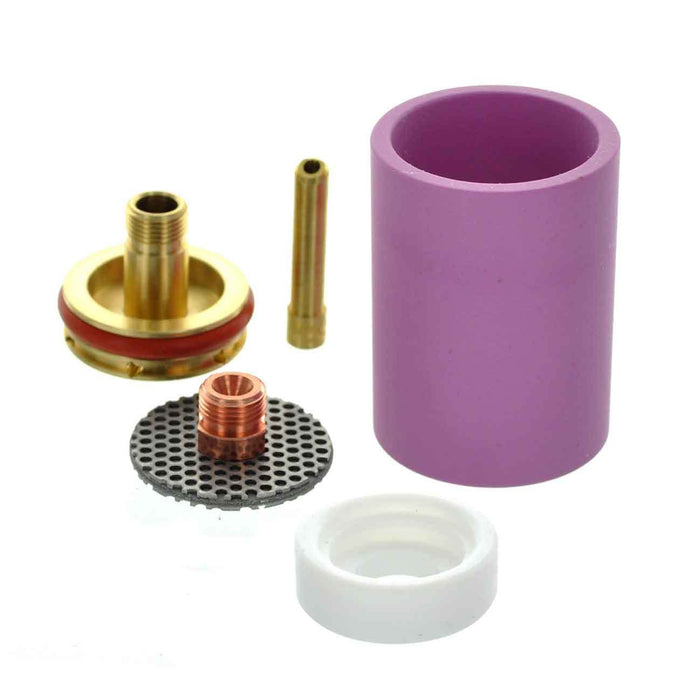 CK Worldwide 3 Series Large Diameter Gas Saver Kit - Alumina Cup