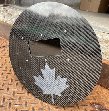 OH CANADA Edition! - Outlaw Carbon Fibre Pancake Hood