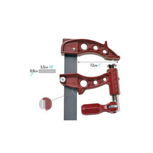 "Piher Maxi F Series Clamps (5"" Throat)"