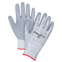 Small Size 7 - Cut Resistant Level 2 - HPPE Nitrile-Coated Gloves