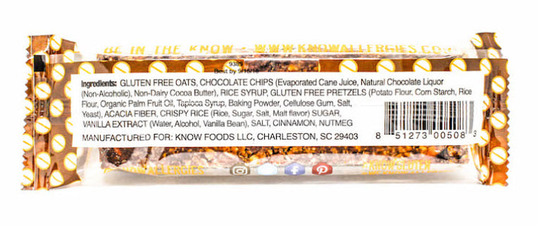 Chocolate Chips & Pretzels Bar (Pack of 12)
