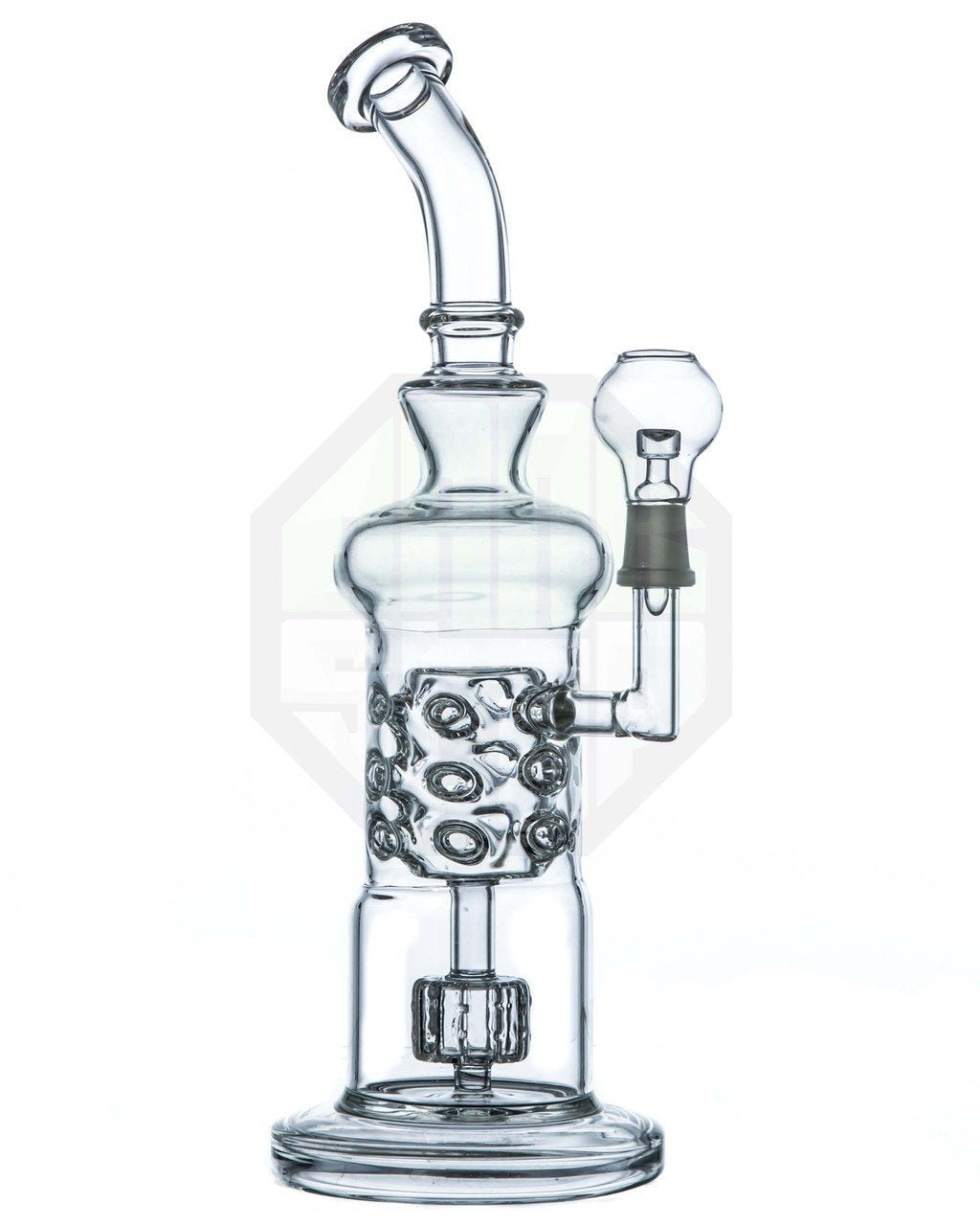 Barrel to Natural Swiss Perc Water Pipe | HSI