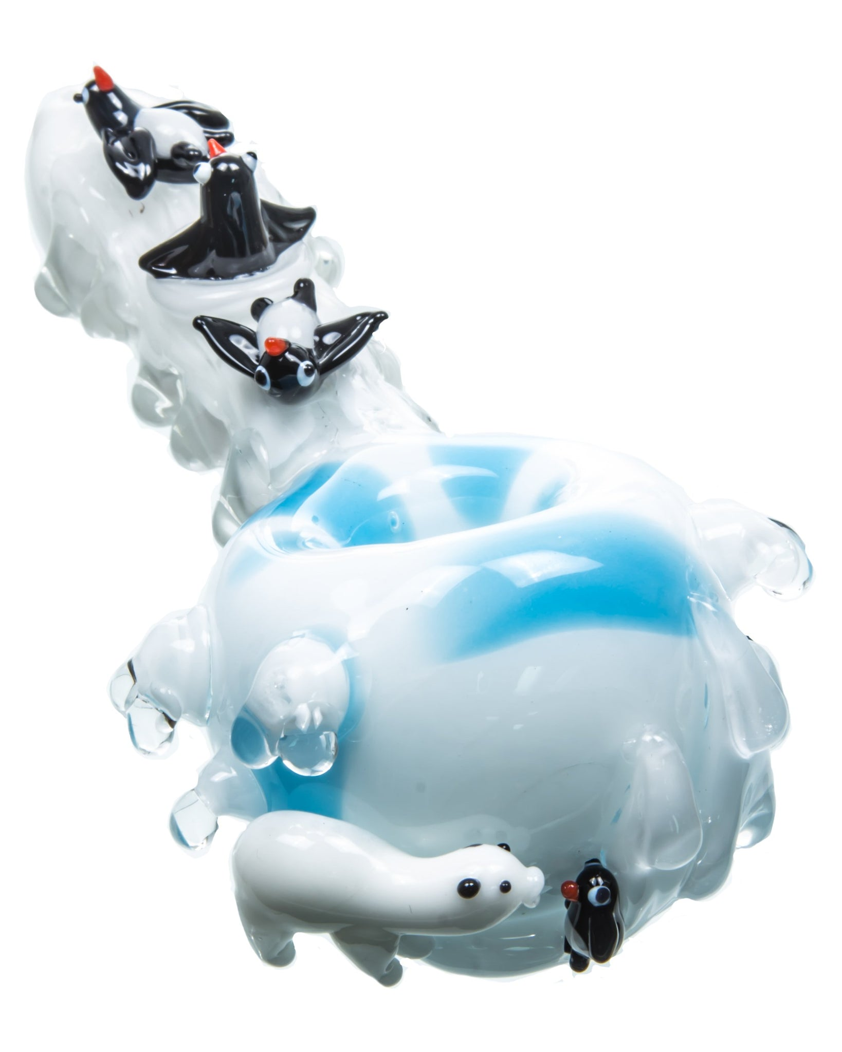 Arctic-Themed Spoon Pipe Empire Glassworks