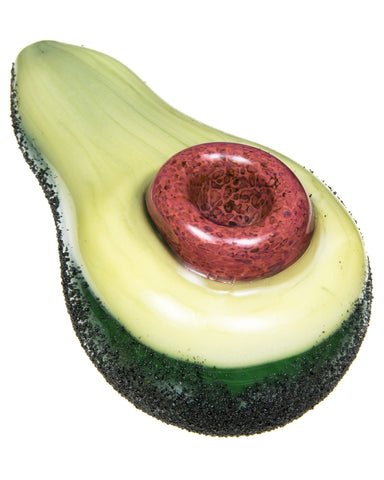 Avocado Hand Pipe Empire Glassworks