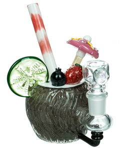 Coconut Colada Mini Bong Empire Glassworks