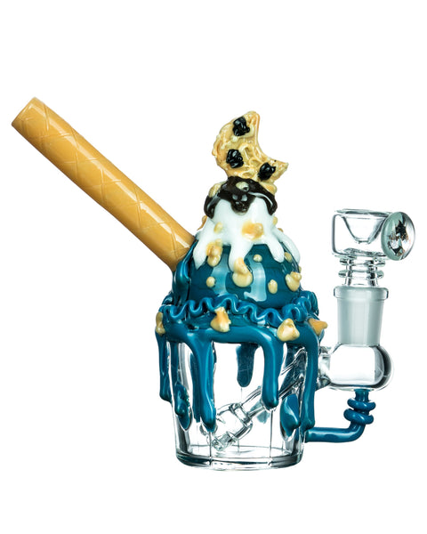 Cookie Monster Sundae Mini Bong