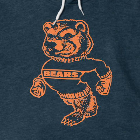 Retro Bear Sweater