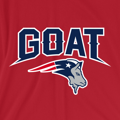 GOAT Text and Logo