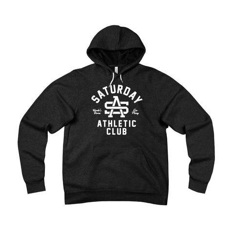College Logo - White - Hoodie