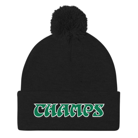 World Champions - Pom Knit Cap
