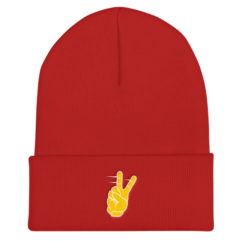 Tyreek Peace Sign - Cuffed Beanie