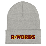 R-Words - Cuffed Beanie