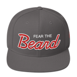 Fear The Beard - Snapback Hat