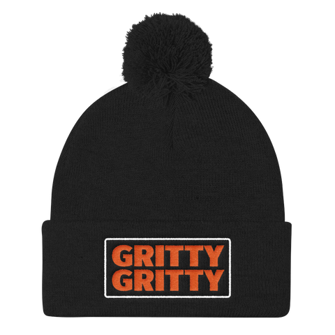 Gritty Gritty - Pom Knit Cap