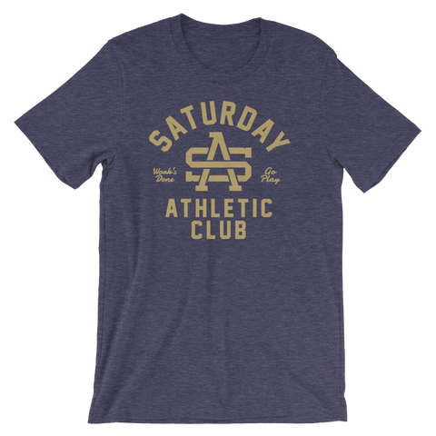 College Logo - Gold - T Shirt