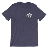 SA Chest Logo - White - T Shirt