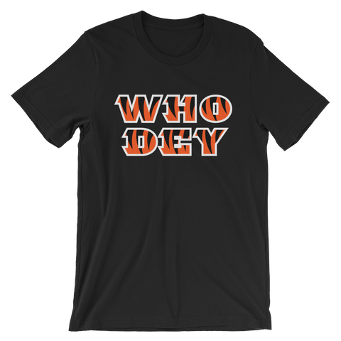 Who Dey - T-Shirt