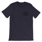 SA Chest Logo - Black - T Shirt
