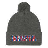 Bills Mafia - Pom Knit Cap
