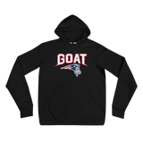 GOAT Logo and Text - Hoodie
