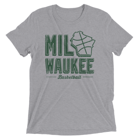 MILwaukee Basketball, Vintage - Triblend
