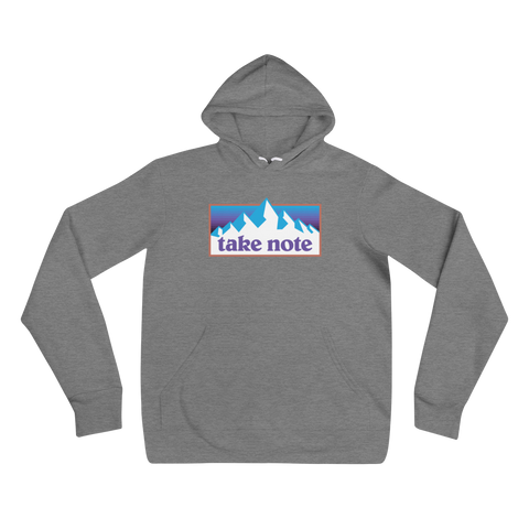 Take Note Mountains - Hoodie