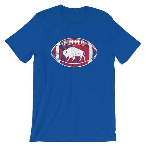 Zubaz Bills Retro Foorball - T-Shirt