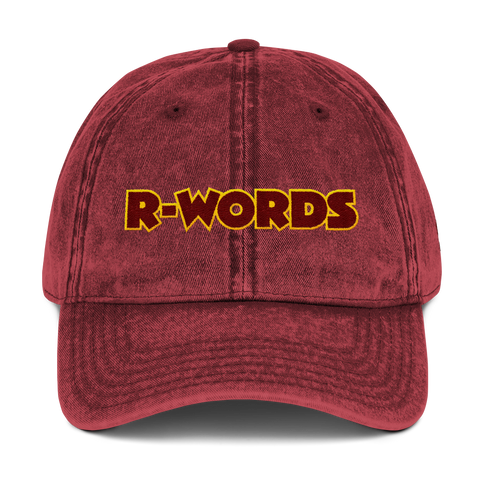 R-Words - Vintage Dad Hat