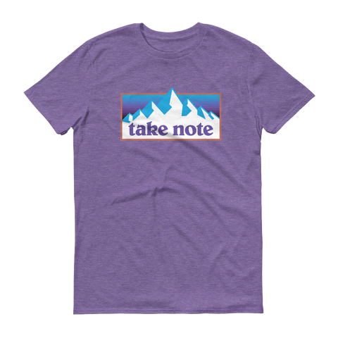 Take Note Mountains - T-Shirt