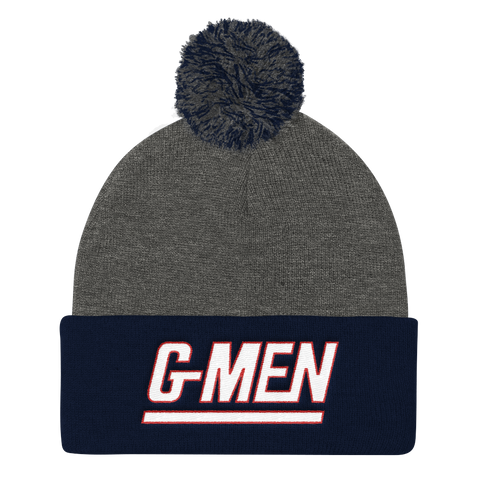 G-Men - Pom Knit Cap