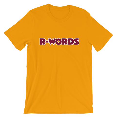 R-Words - Unisex T-Shirt