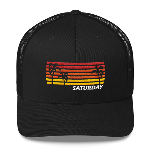 Saturday Sunset - Trucker Cap