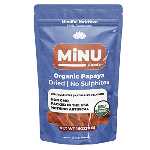 Organic Dried Papaya