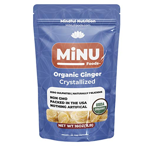 Organic Crystallized Ginger