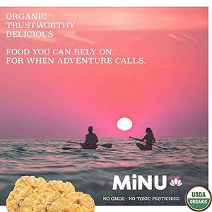 MiNU Organic Dates (16 oz (1 lb) #1 Paleo snack, MiNU Mindful Nutrition, No Sulfur, No Added Sugar, Dried, Superfood, Raw, Paleo, Vegan, NonGMO, Gluten Free gomix