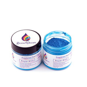 Pearlescent Powdered Mica Pigment Resin4Decor