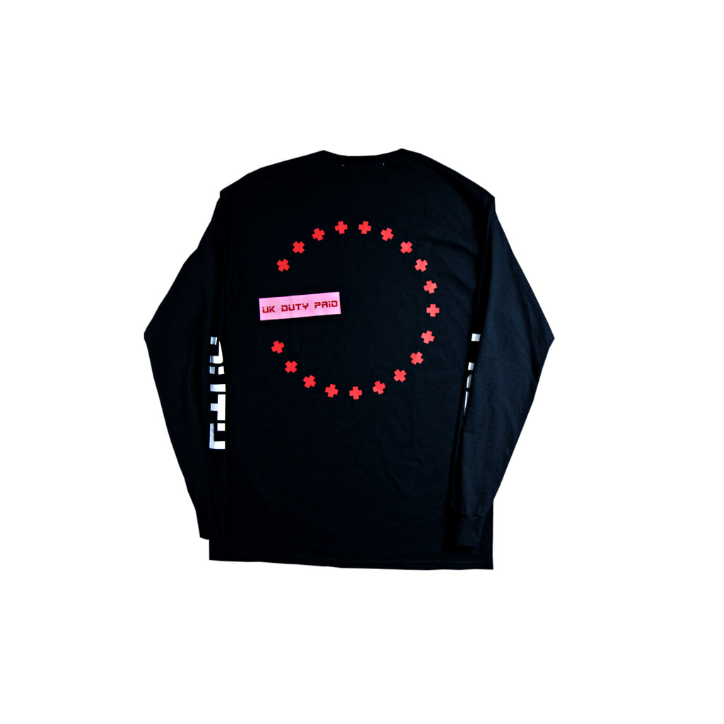 DUTY FREE LONG SLEEVE T - BLACK