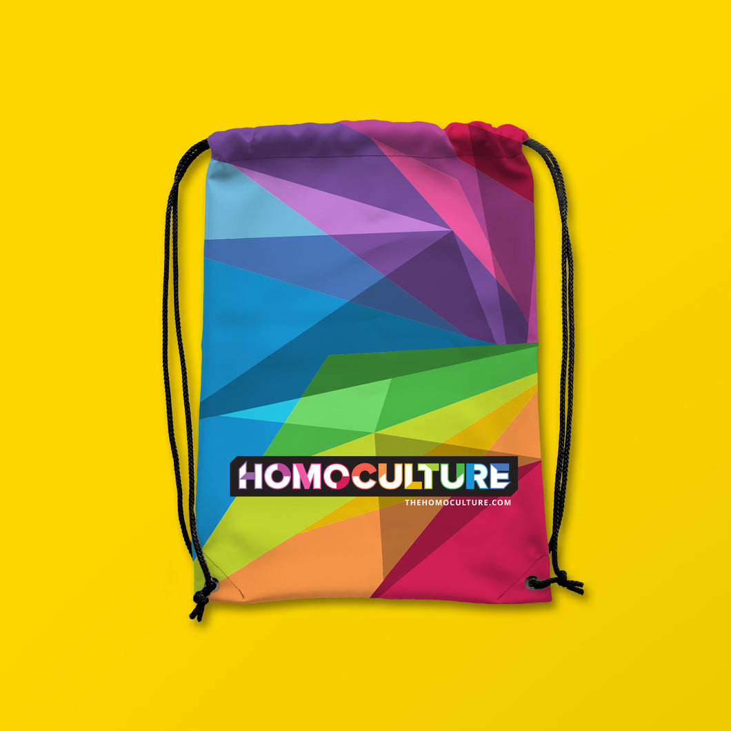 Signature Collection HomoCulture Drawstring Bag
