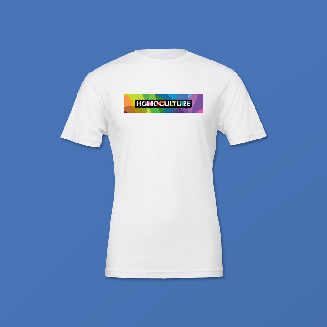 Signature Collection HomoCulture White Short Sleeve T-Shirt