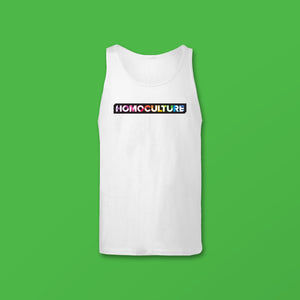 Essential Collection HomoCulture White Tank Top