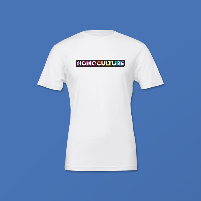 Essential Collection HomoCulture White Short Sleeve T-Shirt