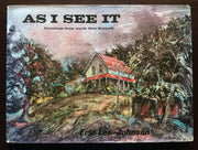 As I See It: Drawings From North New Zealand - Eric Lee-Johnson Non-Fiction