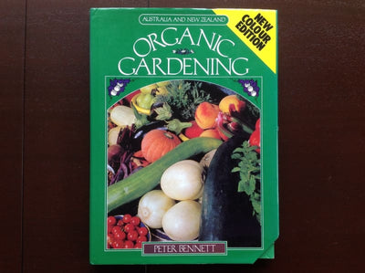 Australia & New Zealand Organic Gardening - Peter Bennett Hardcover Non-Fiction