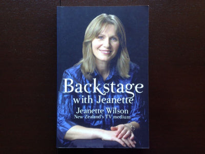 Backstage With Jeanette - Jeanette Wilson Non-Fiction