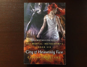 Cassandra Clare - City Of Heavenly Fire Fiction