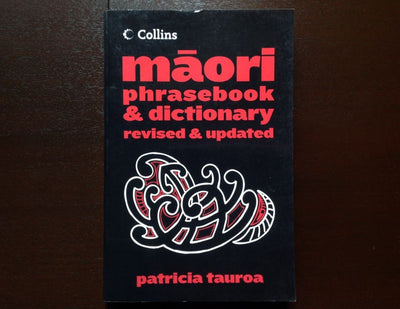 Collins Maori Phrase Book & Dictionary - Patricia Tauroa Non-Fiction