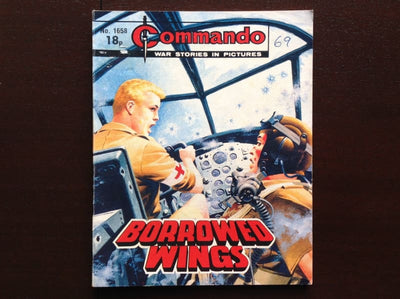 Commando Comic #1658 - Borrowed Wings Fiction