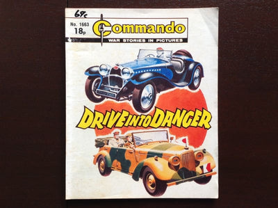 Commando Comic #1663 - Drive Into Danger Fiction